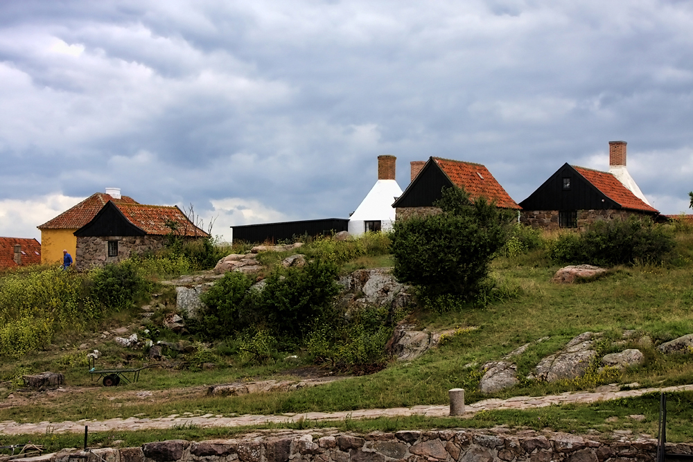 "Борнхольм, Остров Кристиансё, ""Малая башня"".  Island of Kristiansø, ""The small tower"" Isla de Kristiansø ""La torre pequeña"""