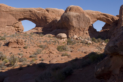North&Southern Window Arches.
