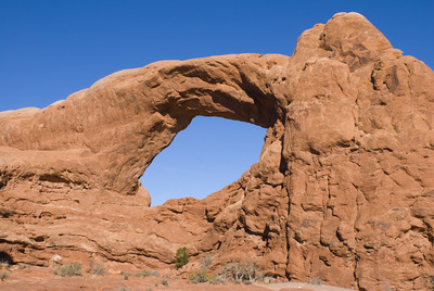 South Window Arch.