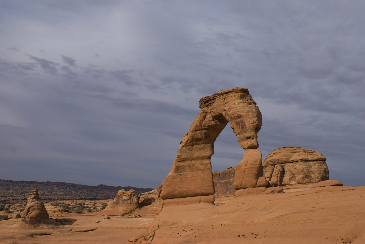 Символ Юты - Delicate Arch.